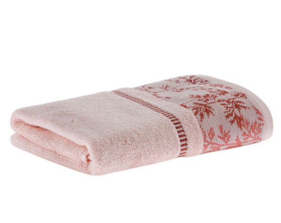 Pink Color Decorative Fingertip Towels