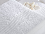 "bulk White Color Terry Bath Towels 40"" x 60"""