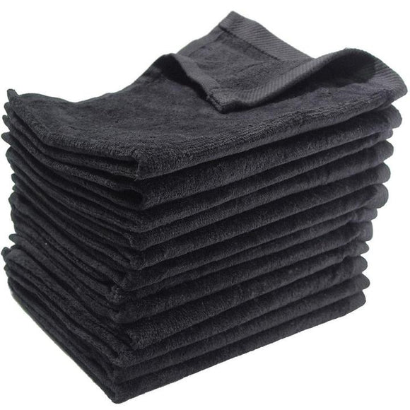 wholesale bulk 240 Pack Black Color Velour 11