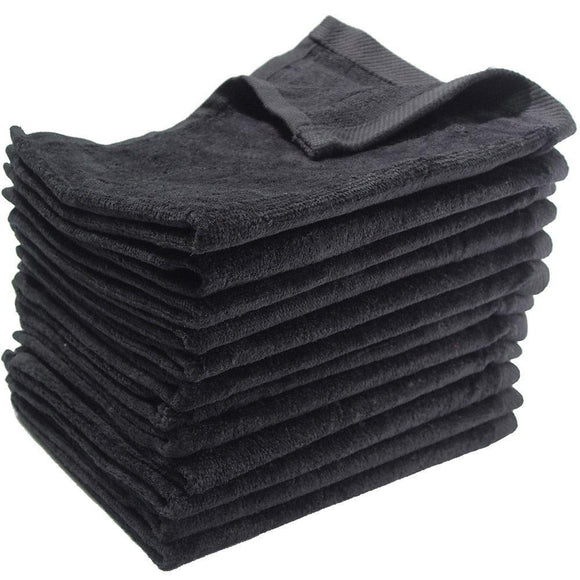 wholesale 12 Pack Black Color Velour 16