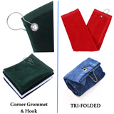 wholesale cotton golf towels in bulk