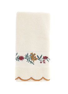 Floral Pattern Fingertip Towels, 3 Pack