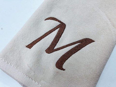 Embroidered Fingertip Guest Gift Towels