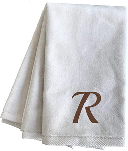 Pergee Embroidered Decorative Fingertip Towels