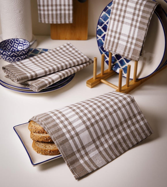 Turkish Cotton Kitchen Tea Towel Set of 5
