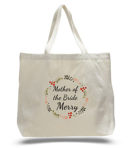Personalized Mother of the Bride Tote Bags