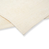 Cotton Fingertip Kitchen Towels Set of 3, Size 11x18 inch, Cream