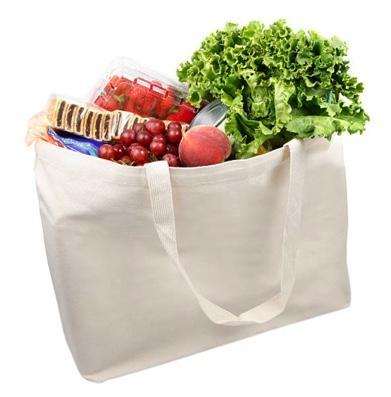 wholesale Large Size Canvas Shopper Tote Bags in bulk