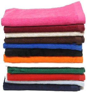 Cotton Fingertip Towels, Assorted Mix Color Set