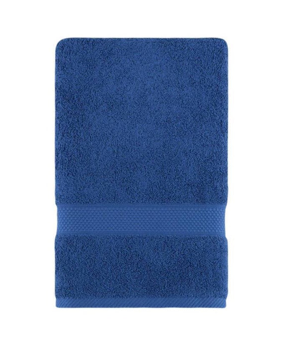Navy Blue Fingertip Hand Towels, Extra-Absorbent and Soft Terry Towel for Bathroom
