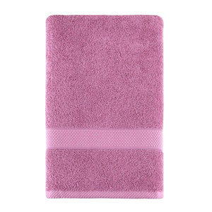 Wholesale Pink Color Fingertip Hand Towels, Extra-Absorbent and Soft Terry Towel for Bathroom
