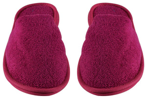 Turkish Luxury Spa Slippers for Men and Women, 100% Cotton Terry House Slippers Indoor/Outdoor, Wholesale