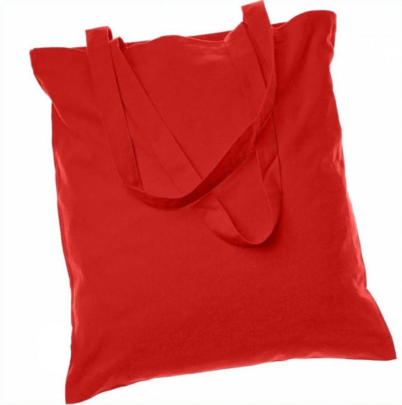 wholesale Everyday Basic Cheap Totes, Red Color Bags