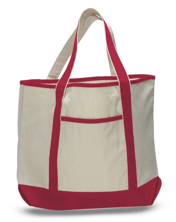 Large Size Deluxe Canvas Tote Bags