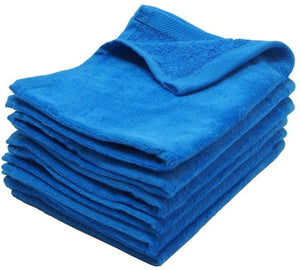 "wholesale 240 Pack Royal Color Velour 11"" x 18"" Fingertip Towels (Hemmed Ends)"
