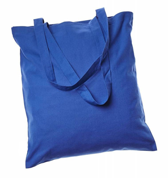 Everyday Basic Cheap Totes, Royal Blue Color Bags in bulk