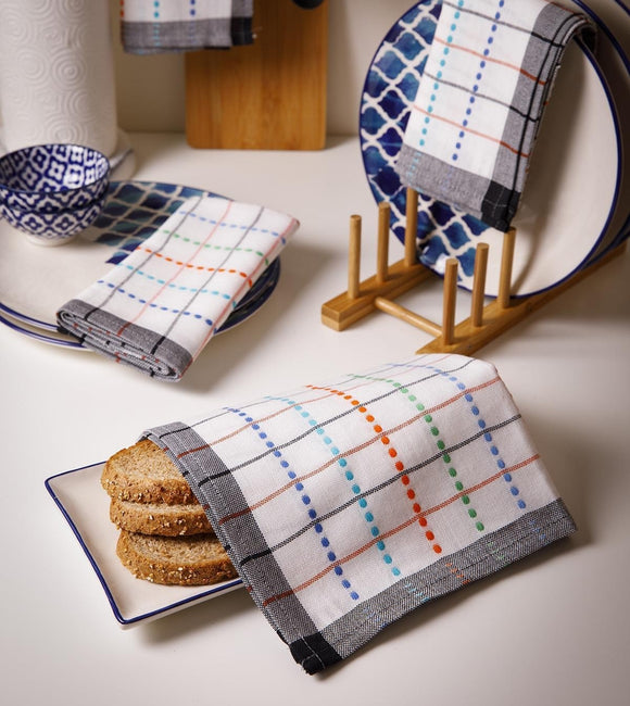 Turkish Cotton Kitchen Tea Towel Set of 4