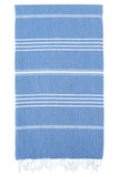 Set of 6, Turkish Towel Set, Mix Color Bath and Beach Towels, 100% Turkish Cotton