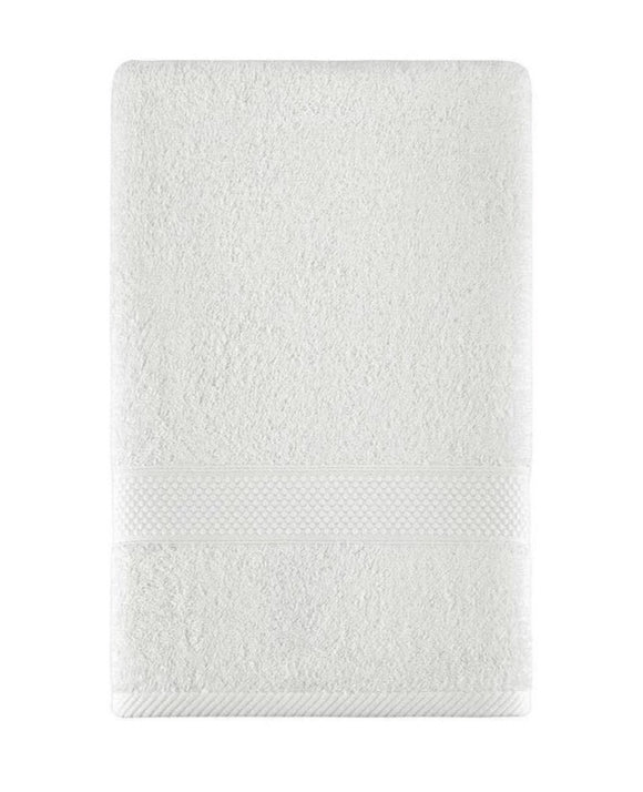 White Color Fingertip Hand Towels, Extra-Absorbent and Soft Terry Towel for Bathroom