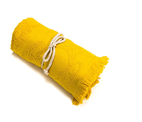 Yellow Beach Towels