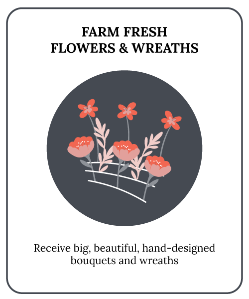 Farm Fresh Flowers & Wreaths