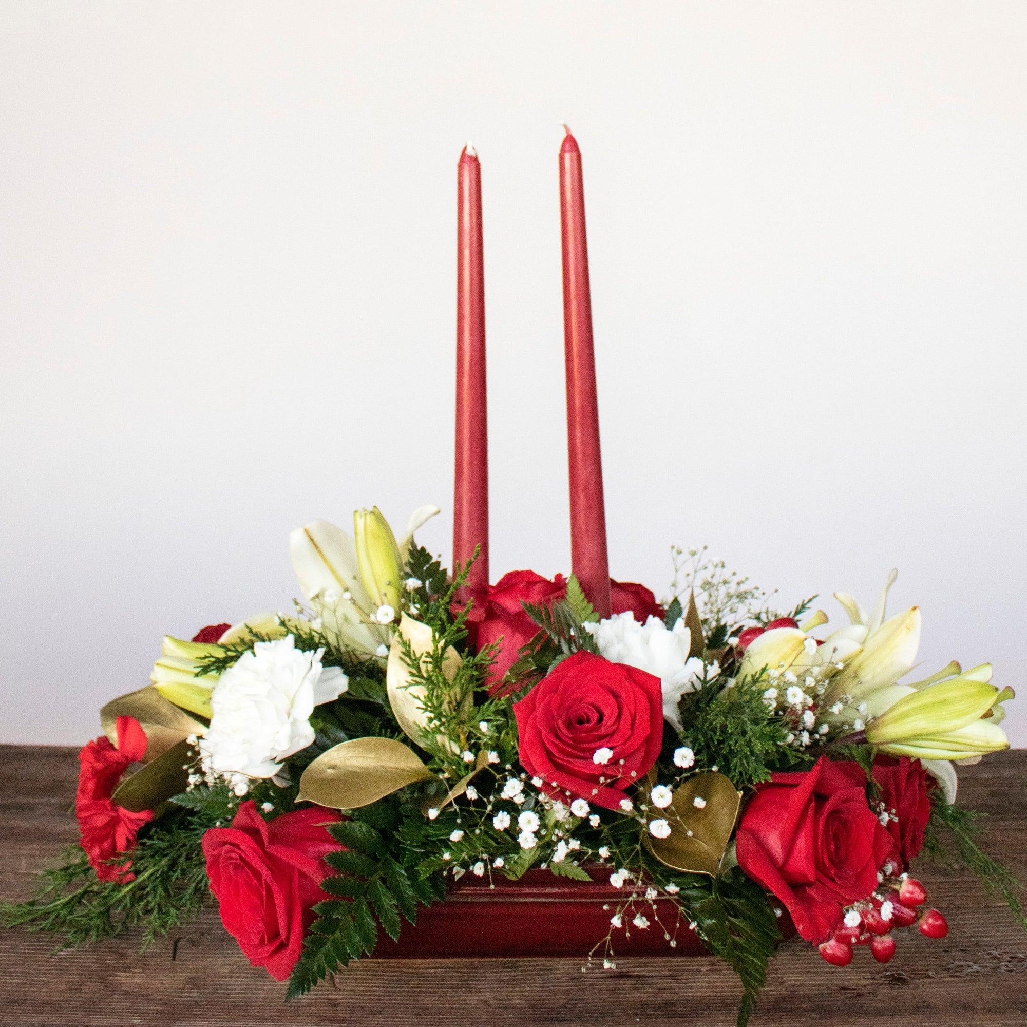 Festive Holiday Flowers Virtual Design Class December 17th 5PM EST