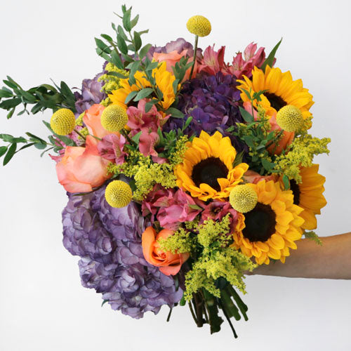 Dawn to Dusk Sunflower Bouquet