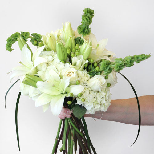 Light and Airy White Flower Bouquet