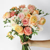 Peach Fancy Flower Bouquet