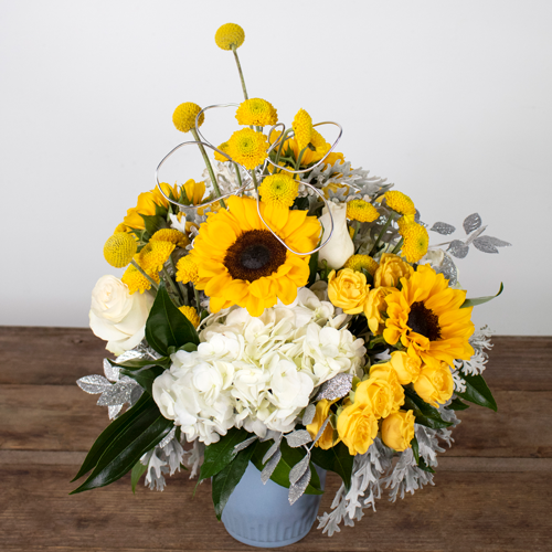 Fresh and Sunny DIY Flower Design Kit and Class