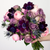 Romantic Waltz Purple and Pink Flower Arrangement