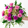 Calming Presence Purple Flower Arrangement