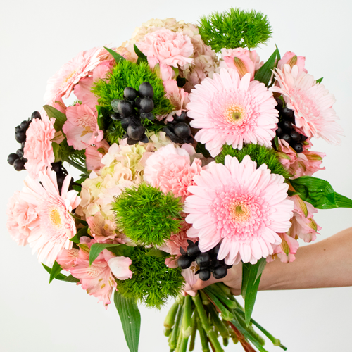 Watermelon Seeds Pink Flower Bouquet