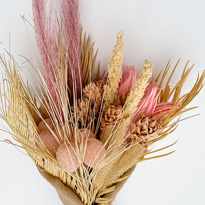 Desert Roads Pink Dried Bouquet