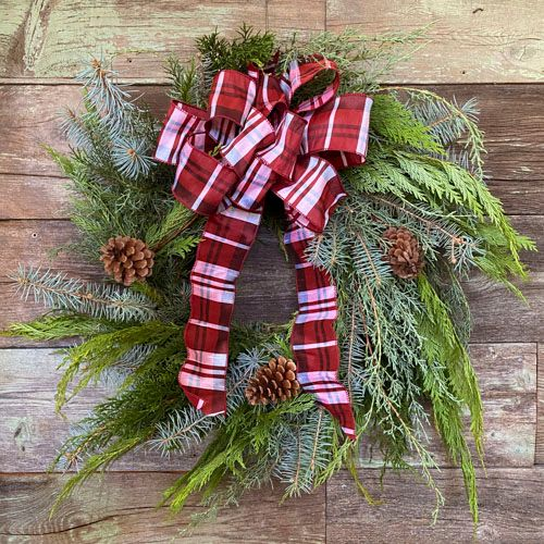 Holiday Fix Wreath Design Virtual Class Kit