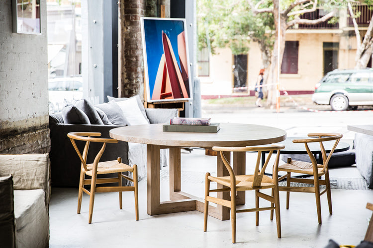 Global dining table by MCM House