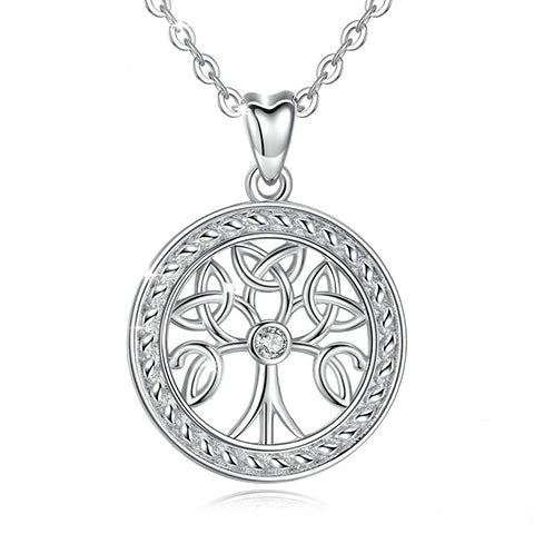 Collier Yggdrasil argent