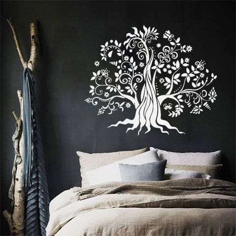 Sticker arbre blanc