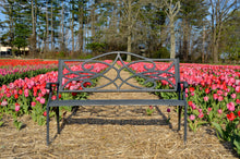 Load image into Gallery viewer, Pink Petals Bench (Sitting)