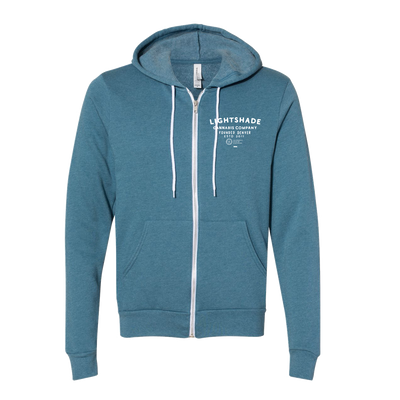 Night And Day Deep Teal Heather Hoodie