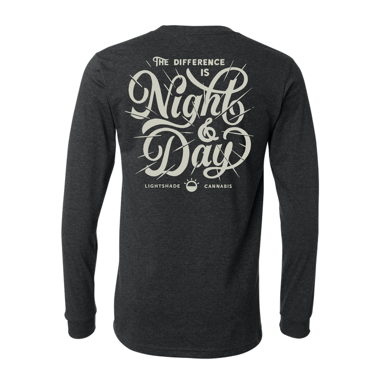 Night And Day Heather Longsleeve