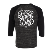 Night And Day Baseball Tee
