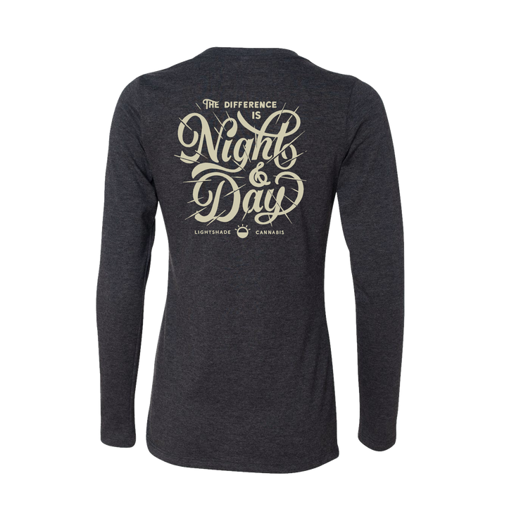 Women's Night And Day Heather Longsleeve