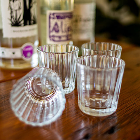 Drink Until You See The Cross Veladora Shotglass