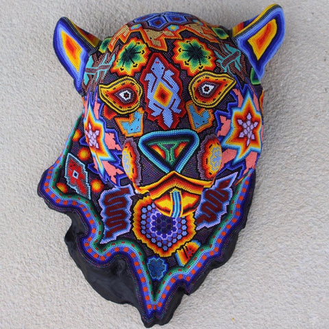 Mexican Huichol Panther