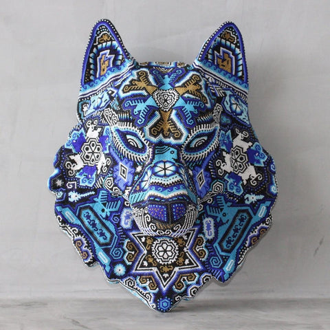 Mexican Huichol Wolf