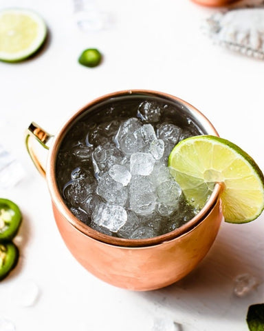 Mexican Mule Tequila Cocktail
