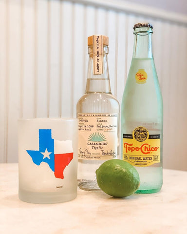 Texas Ranch Water Tequila Cocktail