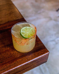 Mezcal Margarita Cocktail