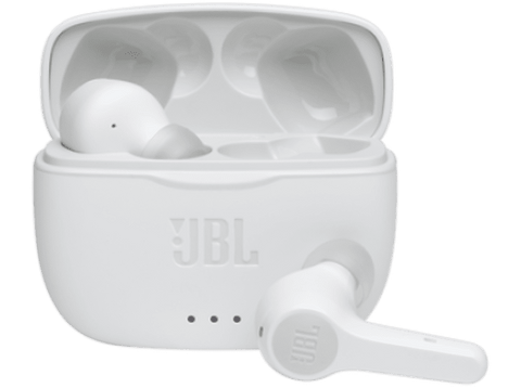 Auriculares inalámbricos - JBL Tune 215, True Wireless, 5h, Blanco